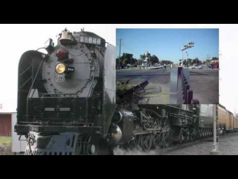 Union Pacific Steam Train 844 ~ Big Boy 4-8-4