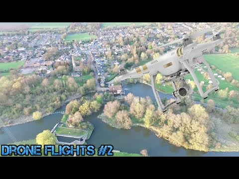 Drone Flights (Huntingdon & Houghton Mill)