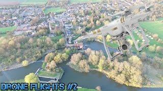 Drone flights (Huntingdon & Houghton Mill)