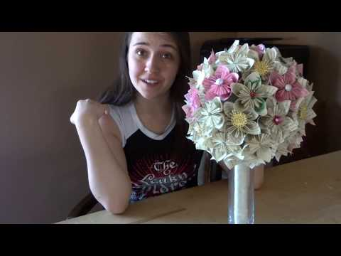Easy Origami Bridal Bouquet Part 3 | Crafts | Fun | Beautiful | DIY
