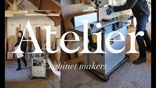 Axminster AT129PT planer thicknesser with spiral cutter head | Review | Atelier Cabinet Makers