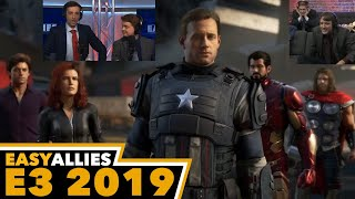 Marvel's Avengers Debut - Easy Allies Reactions - E3 2019