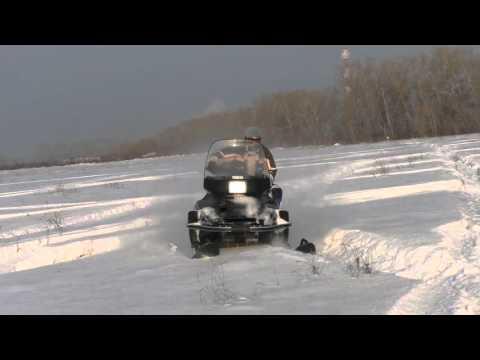 снегоход ямаха викинг/Yamaha Viking VK 540 покатушки