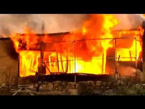 Firefighters Battle Tasmania Wildfires