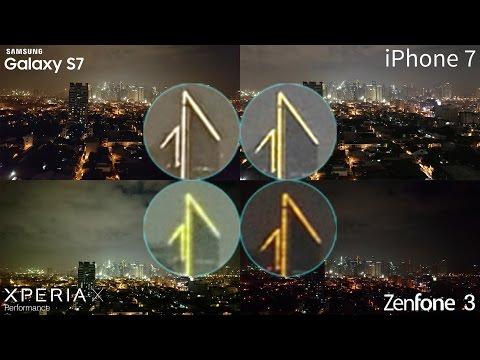 iPhone 7 vs Galaxy S7, Xperia X, Zenfone 3 Camera Comparison