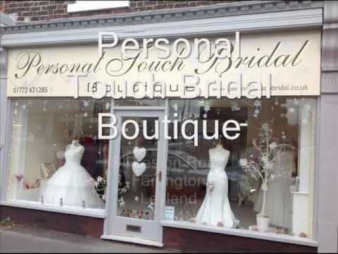 Wedding Dresses Preston - Bridal Dress - Personal Touch Bridal Boutique