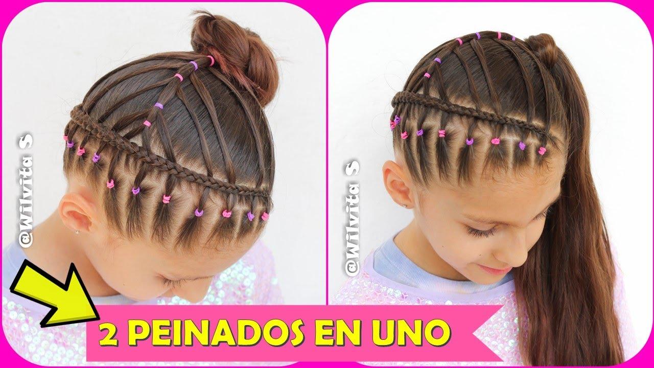 Peinados Faciles Y Rapidos Para Ninas Peinados Para La Escuela