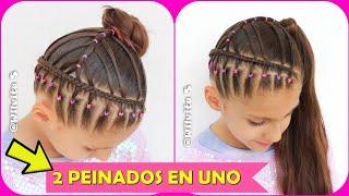 Peinados para niña faciles y rapidos