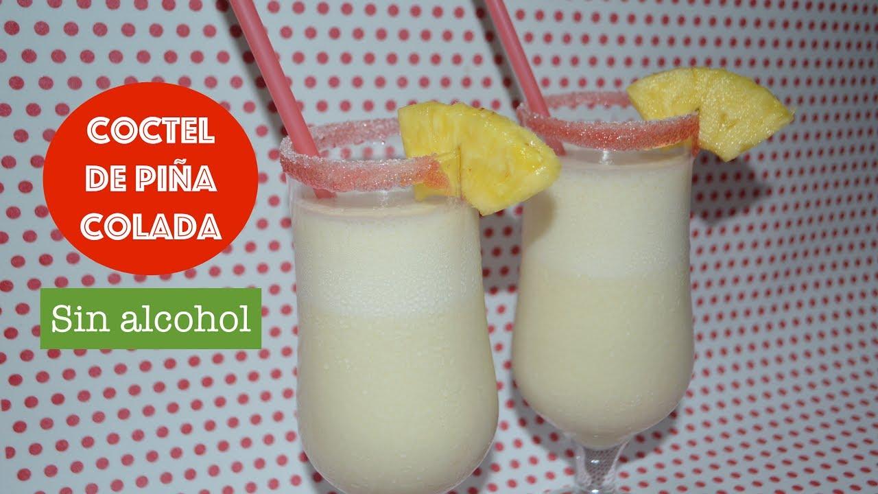Como Hacer Cóctel De Piña Colada Sin Alcoholmuy Fácil Y Rico