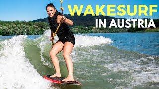 Wake Surfing in Austria