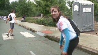 Zombies running a 5k race?