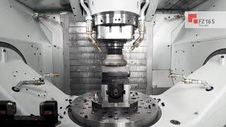 CHIRON FZ 16 S five axis mit HSK 100 I Machining (DE)