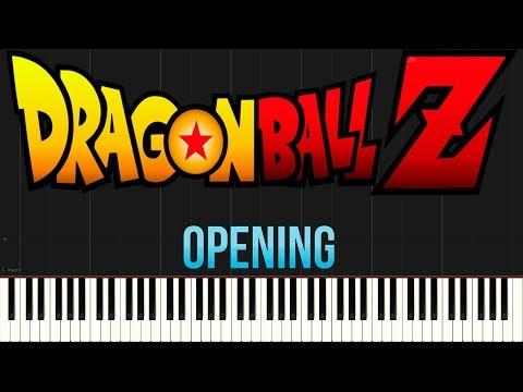 Dragon Ball Z - Opening (Cha La Head Cha La) (Piano Tutorial Synthesia)