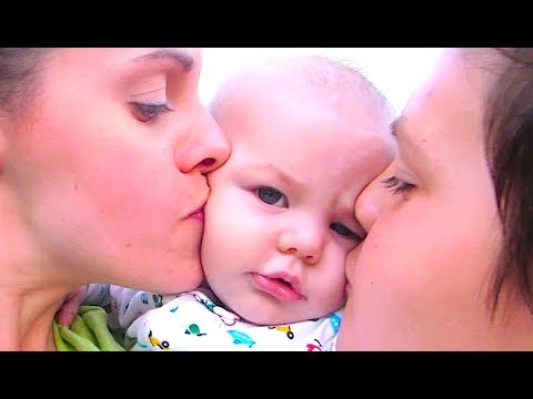 CHUBBY CHEEK KISSES CURE DEPRESSION!