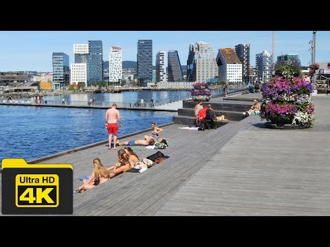 4K NORWAY, OSLO TRAVEL GUIDE VIDEO, Best Places To Go, Top A