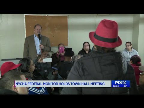NYCHA federal monitor holds town hall with tenants