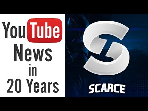Scarce Parody - YouTube News (20 Years Later) - YouTuber Impressions
