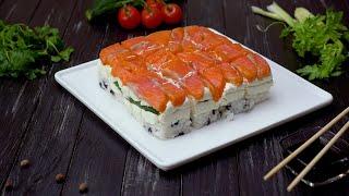 Как приготовить суши-торт - Рецепты от Со Вкусом