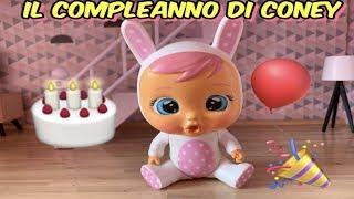 """IL COMPLEANNO DI CONEY""  STORIA CRY BABIES MAGIC TEARS"