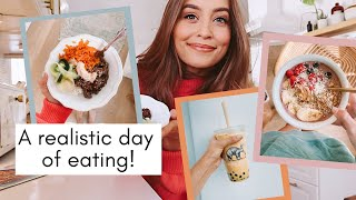 WHAT I EAT IN A DAY // quick & yummy meals at home!