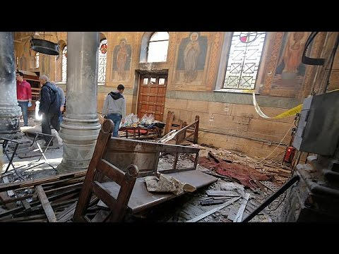 Cairo attack: 25 dead, dozens wounded in Coptic cathedral bombing