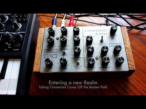 Cimmerian Caves - Dual Echo/Vibrato/Chorus + Fuzz by Artificial Noise