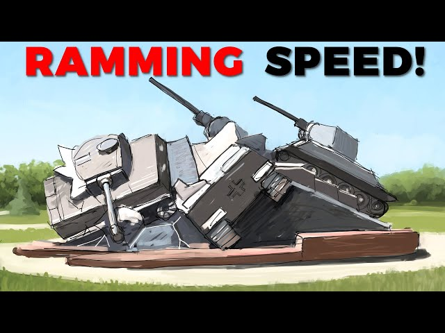 Tank Ramming in WW2 - Ramming Speed feat. @The_Chieftain