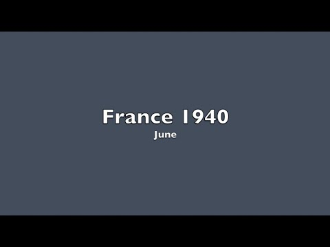 Unconditional Surrender - France 1940 - Part 2 of 4