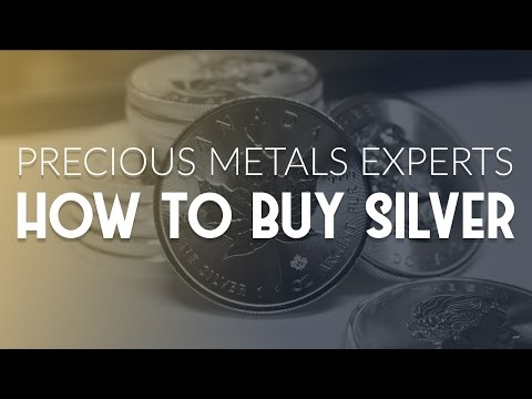 How to Buy Silver Bullion: Advise From Precious Metals Experts