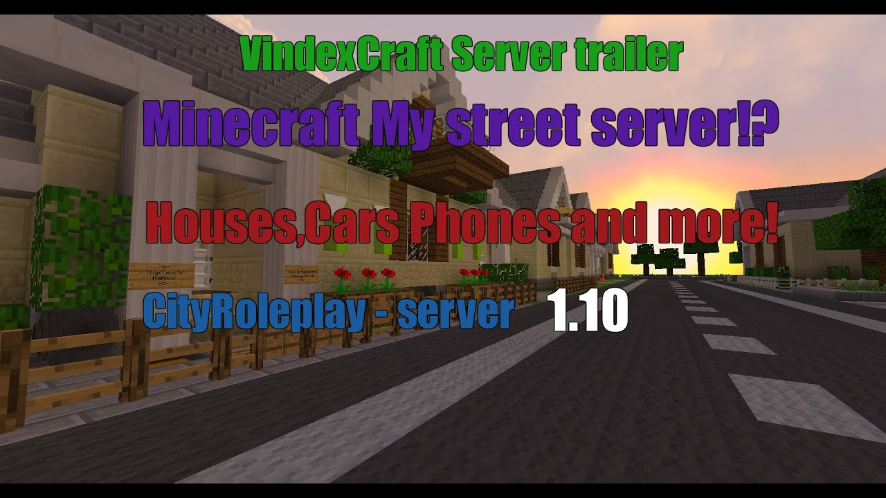 Minecraft Roleplay Pc Servers