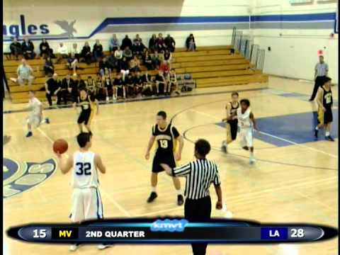 Mountain View Spartans vs Los Altos Eagles - JV Boys Basketball January 22, 2014
