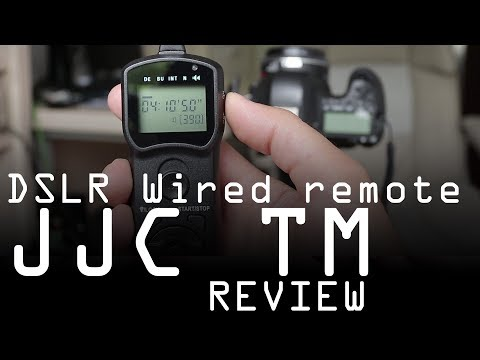 JJC TM wired remote control review