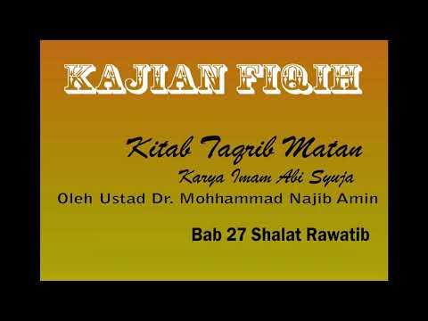 bab-27-shalat-rawatib---kajian-kitab-fiqih-kitab-taqrib