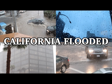 California Flooded :(
