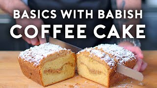 Coffee Cake | Basics with Babish