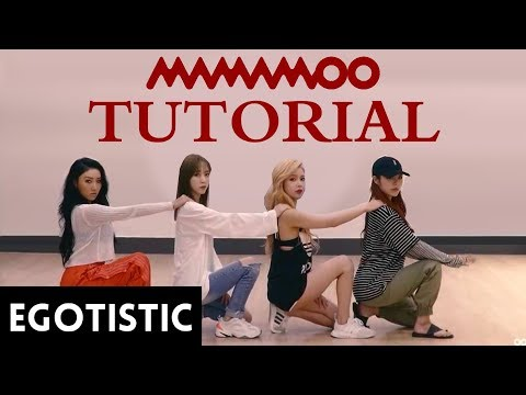 TUTORIAL MAMAMOO - EGOTISTIC DANCE PRACTICE TUTORIAL - (Egoistic Mirroded Easy)