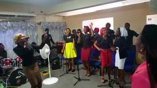 You are the one.  By Living Faith Connection Choir and Evans Ogboi performed by RCCGMP SKN Choir