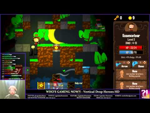 Who's Gaming Now?! - Vertical Drop Heroes HD (Early) |