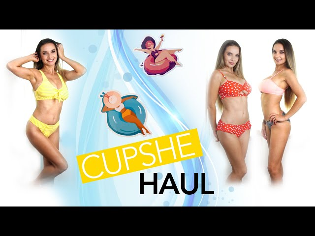 CUPSHE BIKINI HAUL 2020