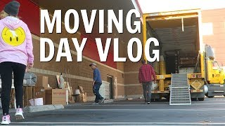 IT'S FINALLY MOVING DAY | MOVING VLOG