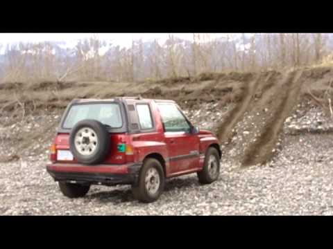 4x4's at the Fraser River-Mar 18,2013