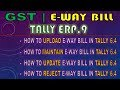 Live Demo |Tally ERP 9– Generate e-Way Bill & Upload JSON File by Tally  in E-Way Portal