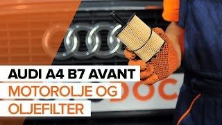 Vedlikehold Audi A4 B6 Avant - videoguide