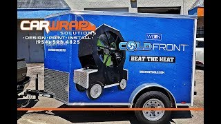 Trailer Wraps Advertising & Marketing Fort Lauderdale Florida By Car Wrap Solutions