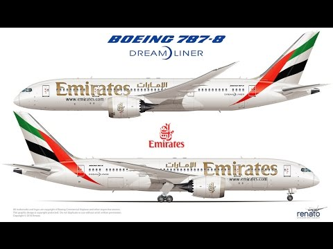 FLIGHT 787 - Advanced -Boeing 787-8 DreamLiner-[EMIRATES from Turkey(LTBA) To Saudia Arabia (OEJN)]