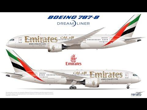 FLIGHT 787 - Advanced -Boeing 787-8 DreamLiner-[EMIRATES from Turkey(LTBA) To Saudia Arabia (OEJN)]