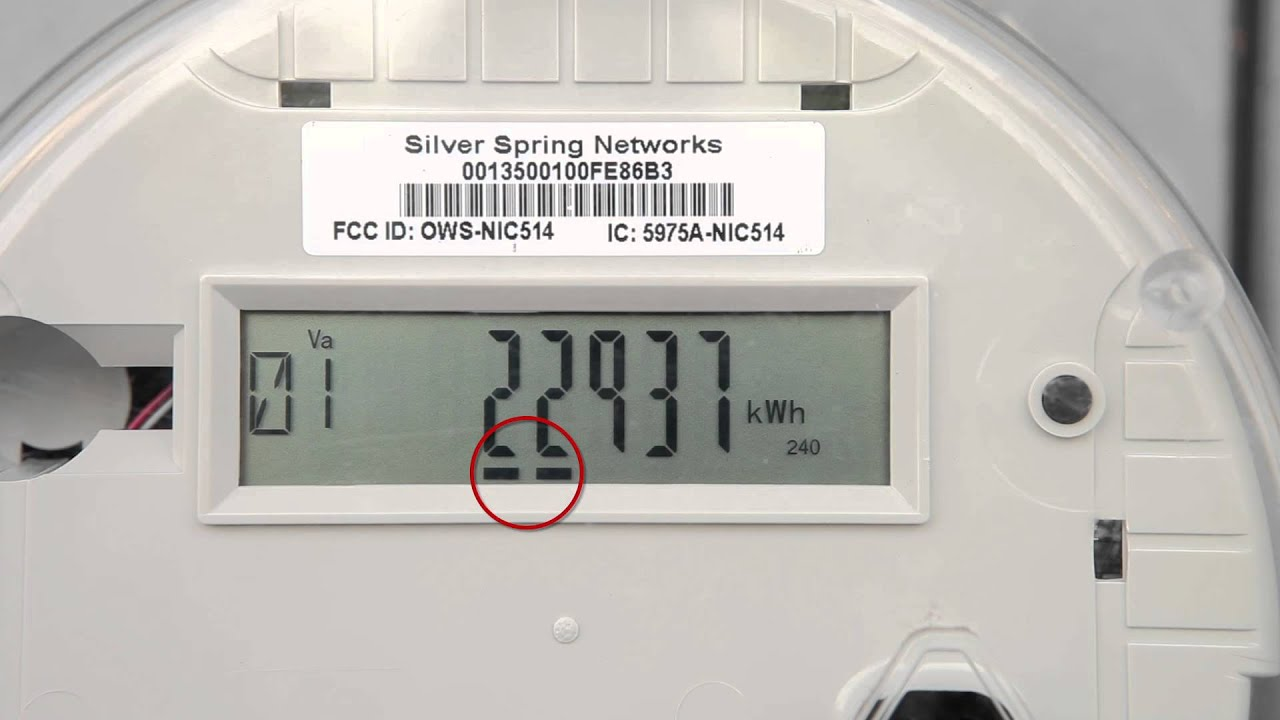 Smart Electric Meter Reading : How to read your smart meter youtube