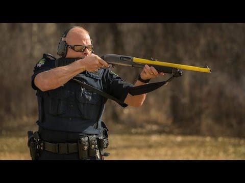 Alberta police convert shotguns into beanbag guns