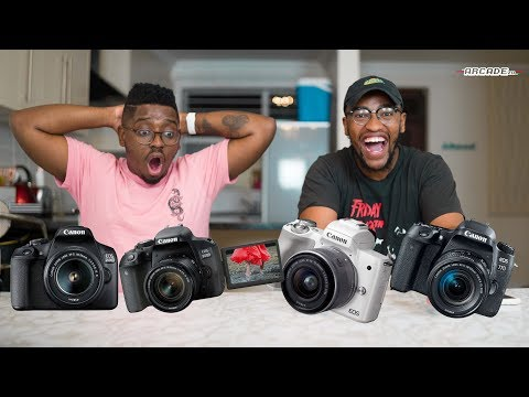 Top 5 Cameras To Buy For A Beginner YouTuber In SA!
