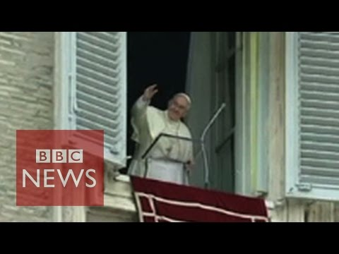 Pope Francis: Global warming a threat and urges action - BBC News